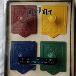 Harry Potter house Cookie cutters